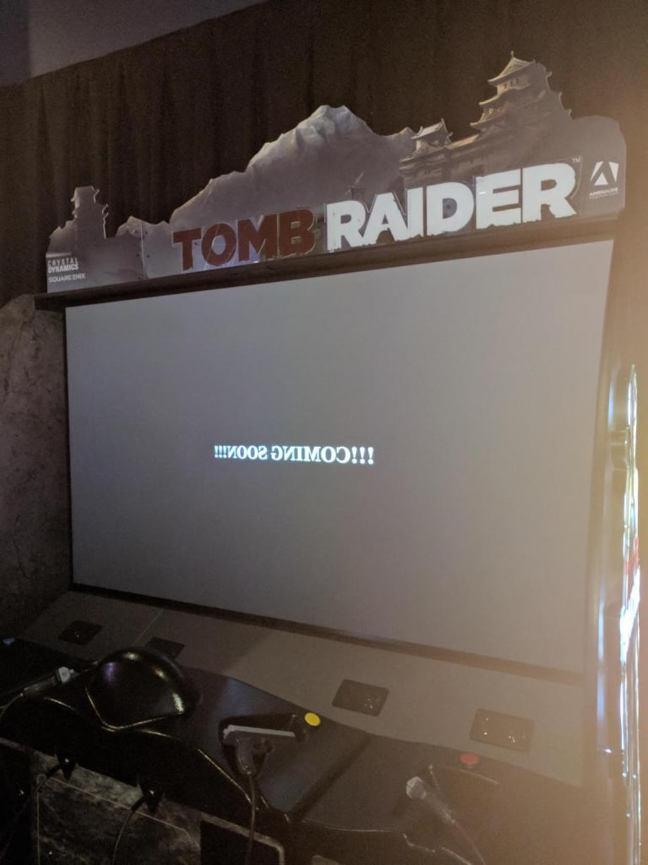 Diablo Wallpaper Hd Tomb Raider Is Coming To Dave Amp Busters Daily Glixel