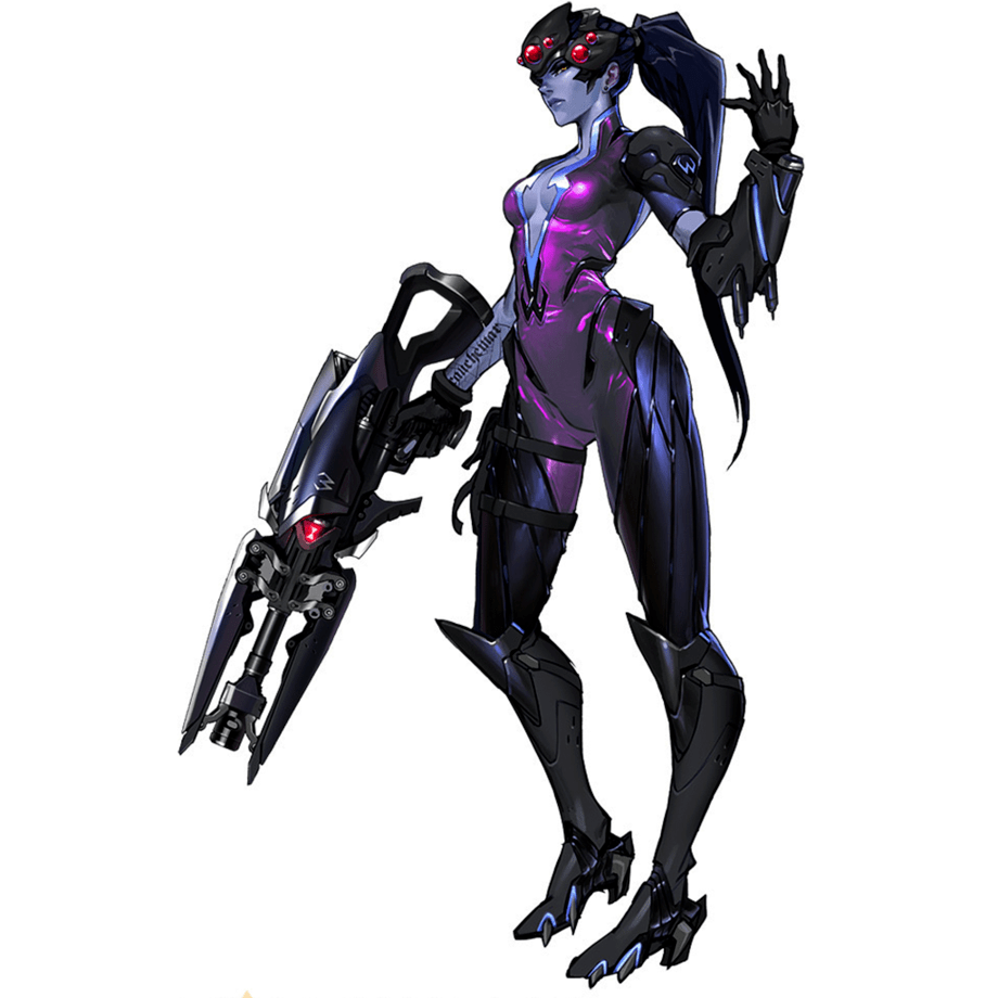 Tattoo Girl Wallpaper Hd Iphone Widowmaker Overwatch Character Power Rankings
