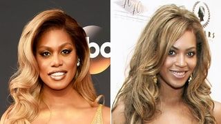 Emmys 2016:Laverne Cox Wears a Dress Just Like Beyonce