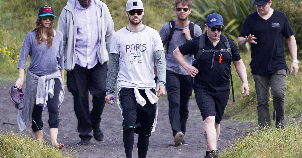 Red Raven New Zealand Jessica Biel Justin Timberlake Go Hiking In New Zealand