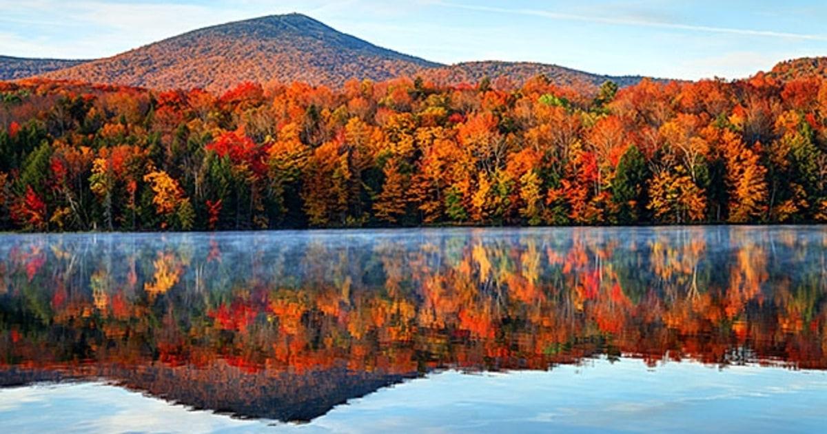 Vermont Fall Foliage Wallpaper Appalachian Trail Killington Vermont Your Trail