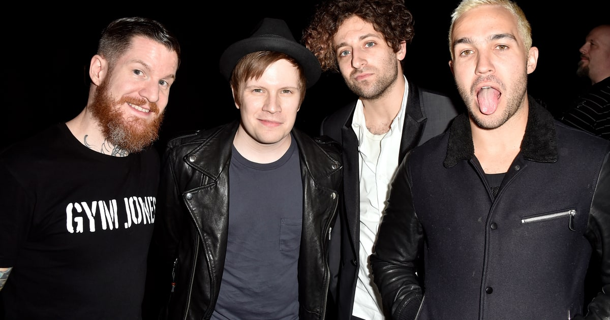 Mania Wallpaper Fall Out Boy 14 Things We Learned On The Road With Fall Out Boy
