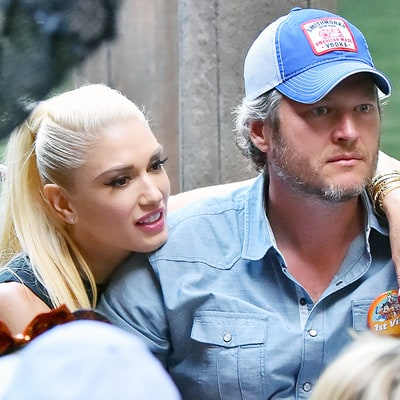Gwen Stefani Takes Blake Shelton to Disneyland and Her Childhood Home: Photos