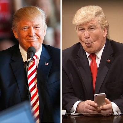 Donald Trump Calls Alec Baldwin's 'Saturday Night Live' Impersonation 'Unwatchable' After Cold Open, Baldwin Tweets Back