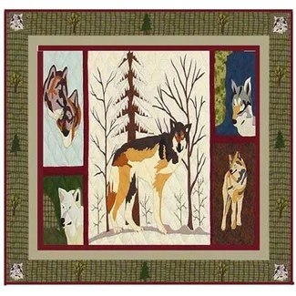 Call of The Wild Shower Curtain from Wayfair!