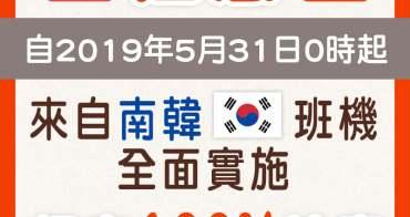 韓國旅行資訊∥ 北韓爆發非洲豬瘟疫情,5月31日起韓國來臺班機,手提行李全面檢查