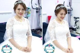婚宴新娘秘書│甜心的浪漫氣質白紗造型