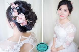 台南新娘秘書│不衝突的韓系妝容歐美造型