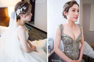 台南新秘│氣質編髮+華麗宮廷風+復古時尚+招牌花飾新娘造型