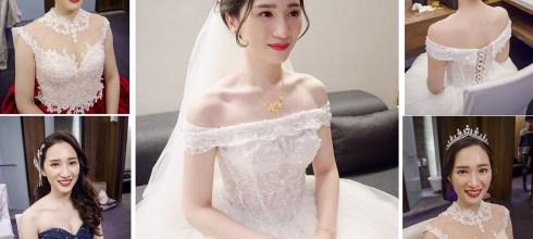 台南新娘秘書│閃耀無比的新娘造型