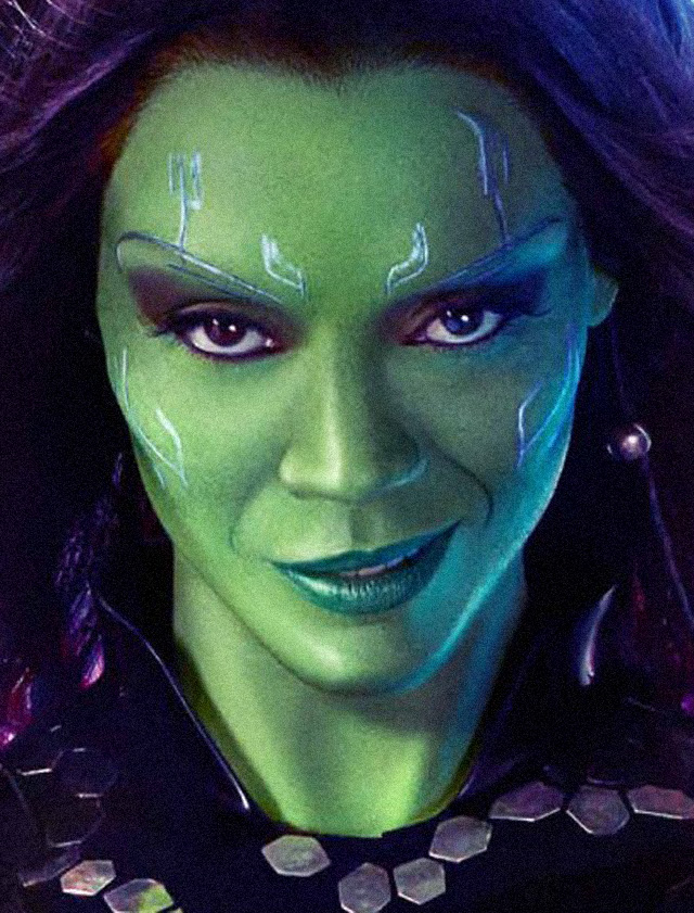 The Avegners Wallpaper Quotes Guardians Of The Galaxy Makeup Tutorial Gamora Transformation