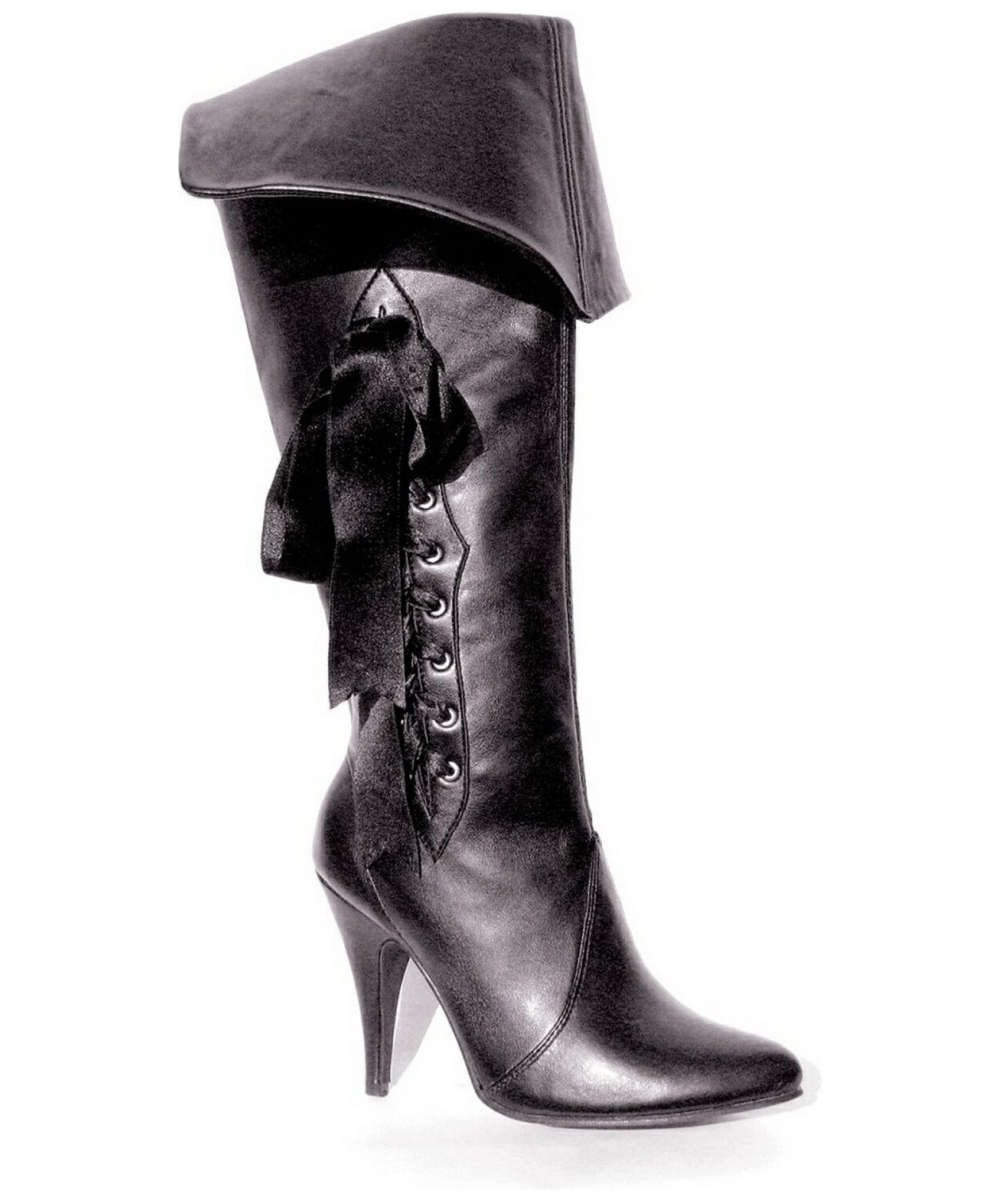 Adult Pirate Black Shoes Women Costume Shoes