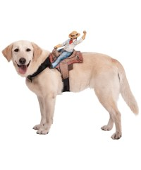 Cowboy Dog Riders Pet Costume - Cowboy Costumes