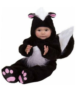 Small Of Baby Skunk Costume