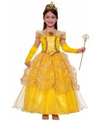 Gold Princess Kids Costume - Girls Princess Costumes