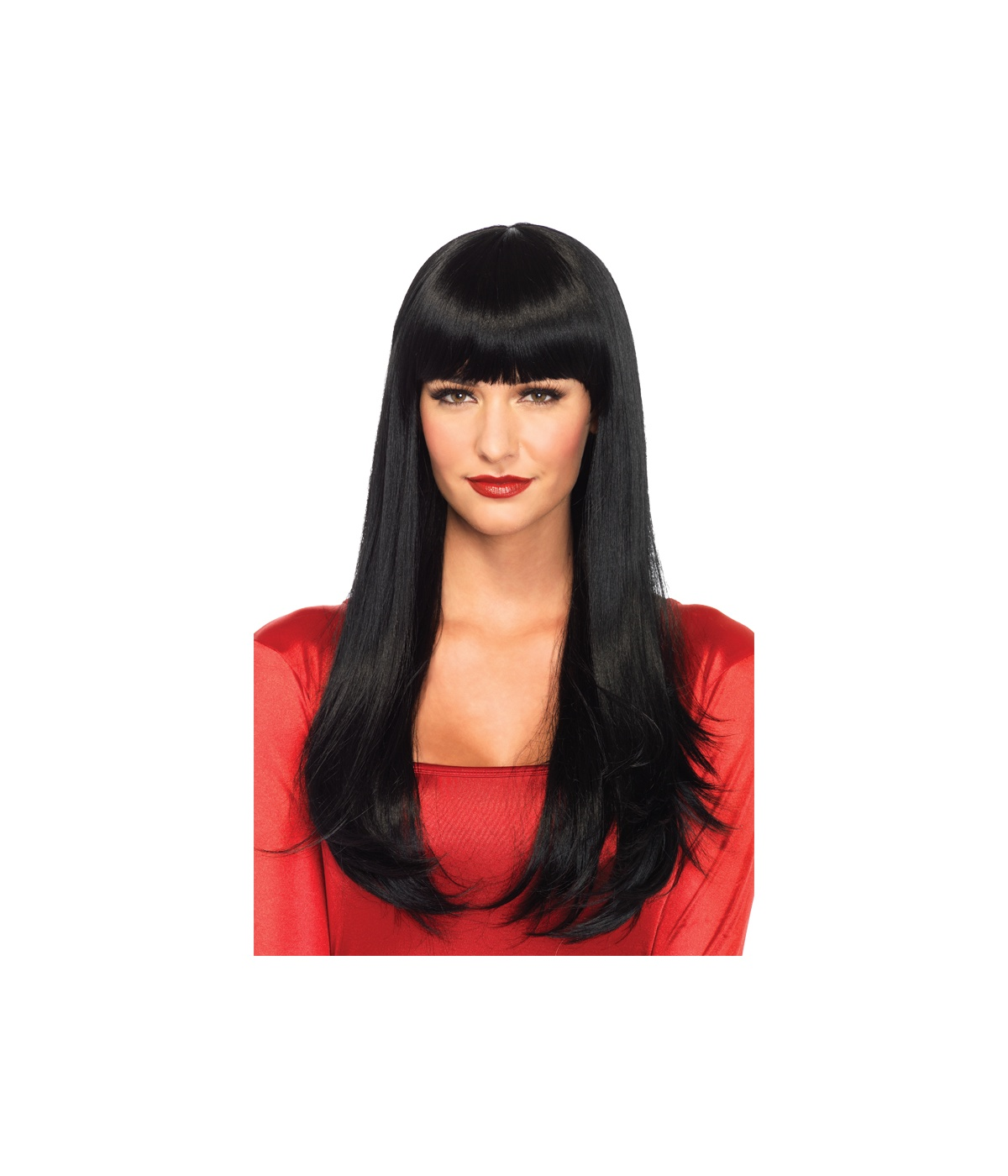 Straight Hair Cutting Video Long Straight Bangs Black Wig Wigs