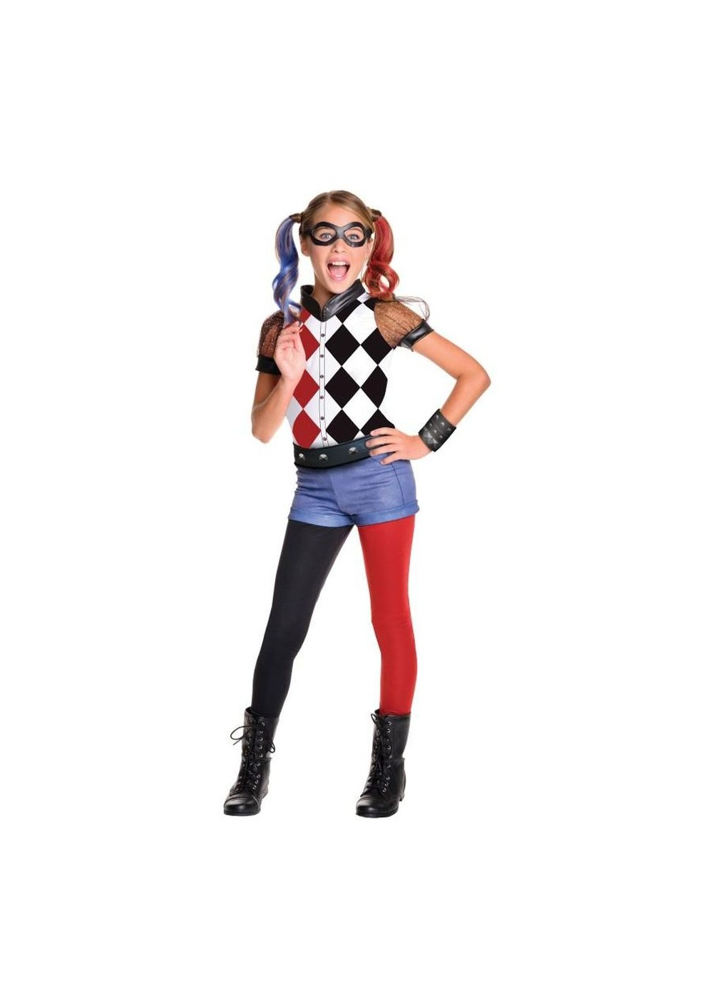 Toddler Child Hat Size Harley Quinn Girls Costume Movie Costumes