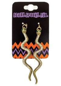 Snake Earrings - Accessories