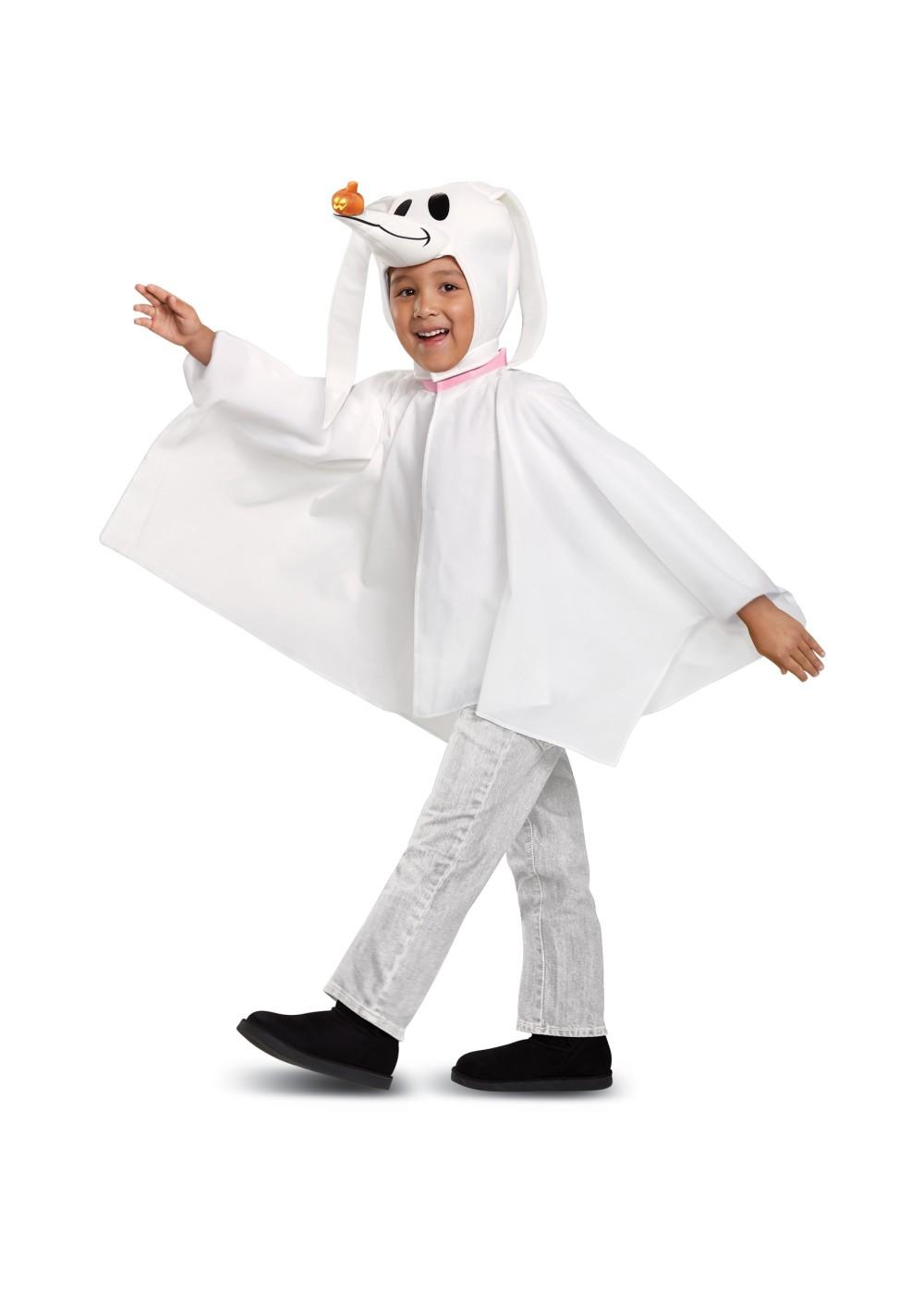 Dining 2018 Toddler Ghost Costume Homemade Children S Ghost Costume Ideas Zero Toddler Disney Classic Costume Zero Classic Toddler Costume Holiday Costumes New baby Toddler Ghost Costume