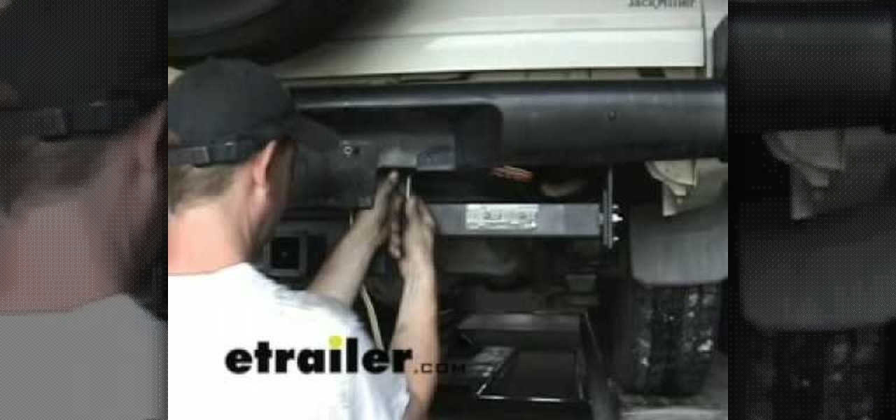 How to Install a trailer wiring harness on an Isuzu Rodeo « Car Mods