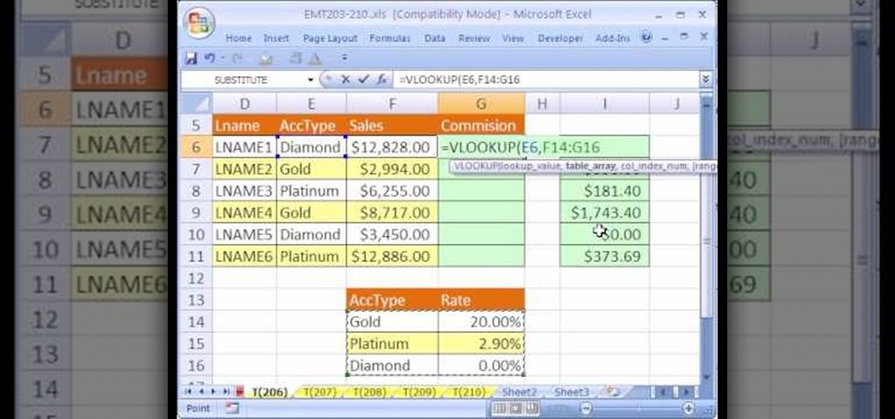 How to Calculate commissions with Excel\u0027s VLOOKUP function - realtor percentage calculator