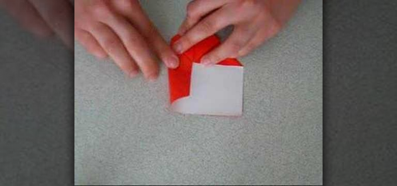 How To Origami A Heart With Rectangular Paper Origami