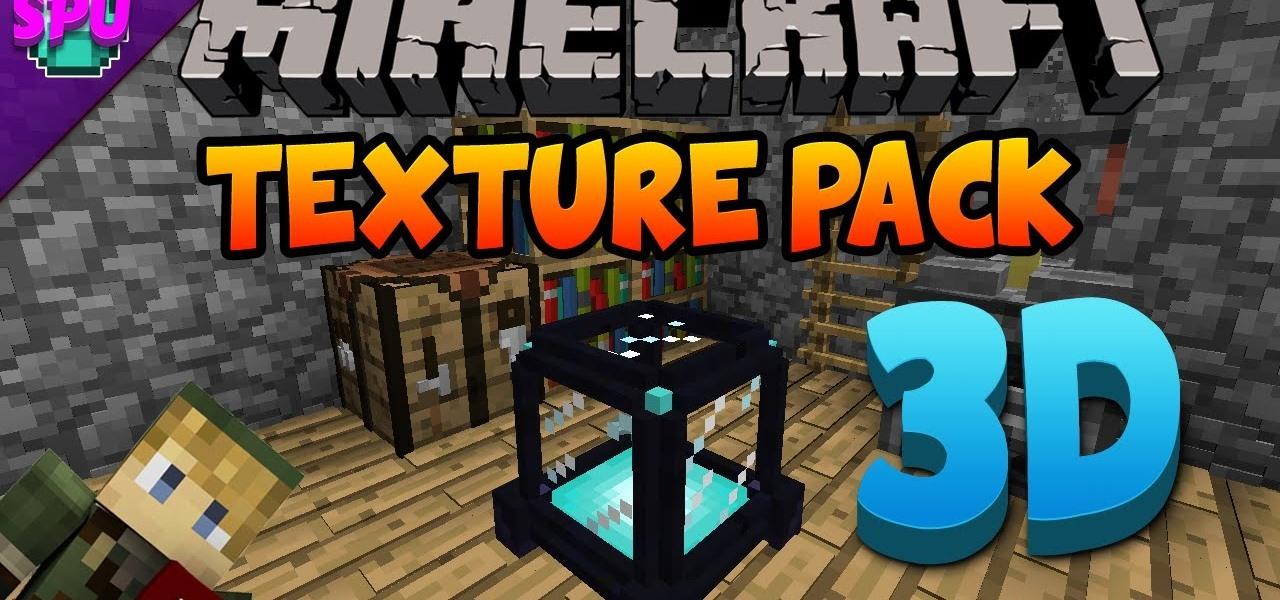 Default 3D Minecraft Texture Pack 18 « Minecraft  WonderHowTo