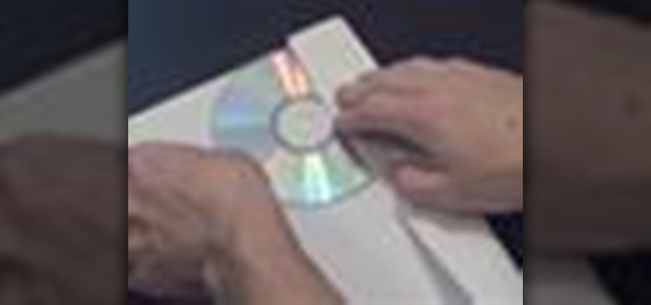 How to Make a paper CD case or paper DVD case « Papercraft