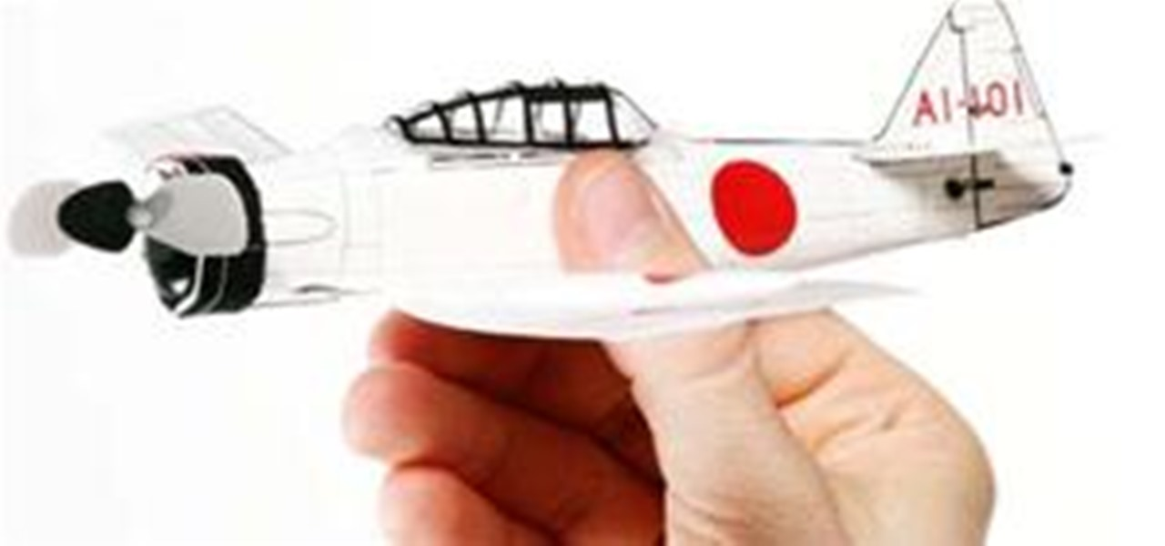 Motorize Your Paper Airplane Remote Control Vehicles