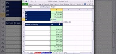 How to Find APR, EAR & amortization for payday loans in Excel « Microsoft Office :: WonderHowTo