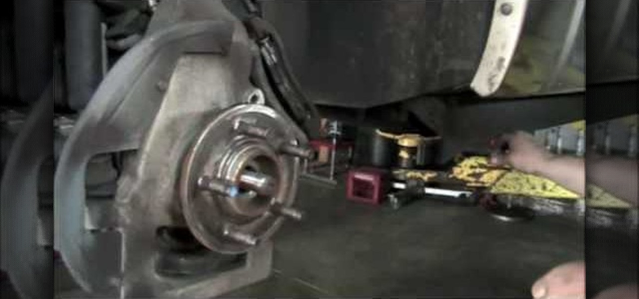 How To Remove And Replace A Front Wheel Bearing On A 1991