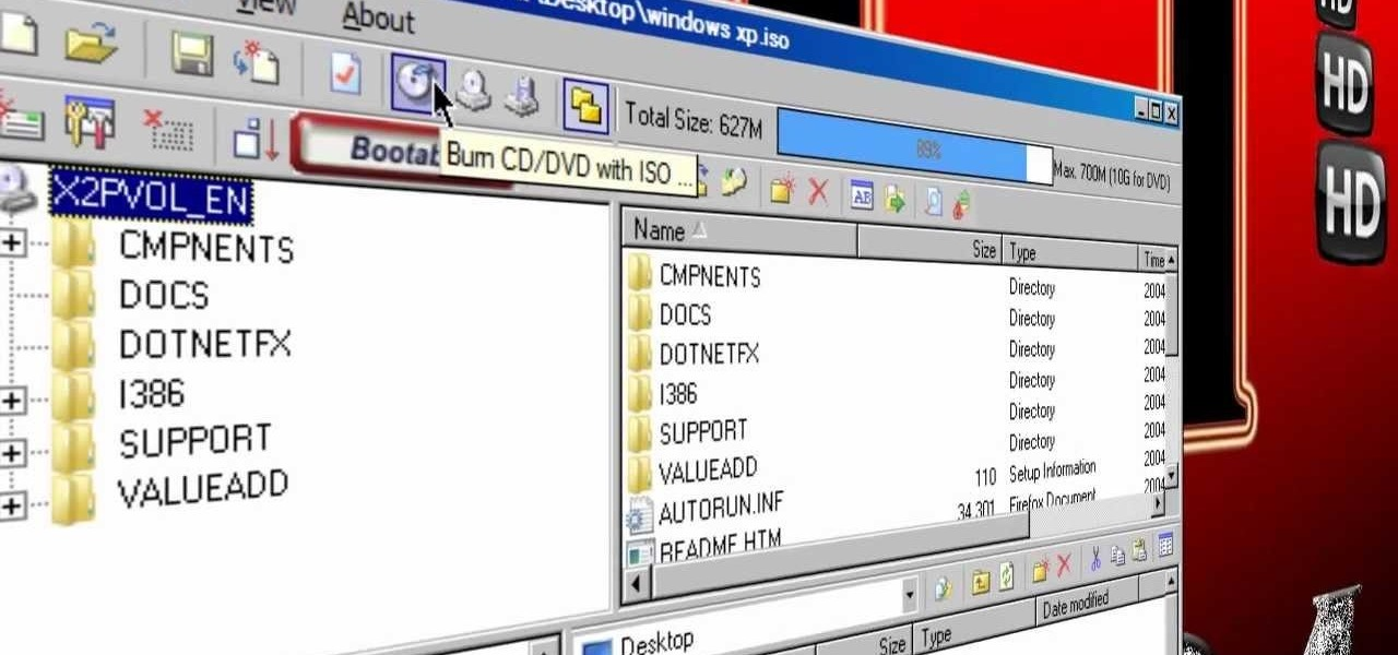 How To Make A Bootable Iso Image Or Cd Dvd Software Tips
