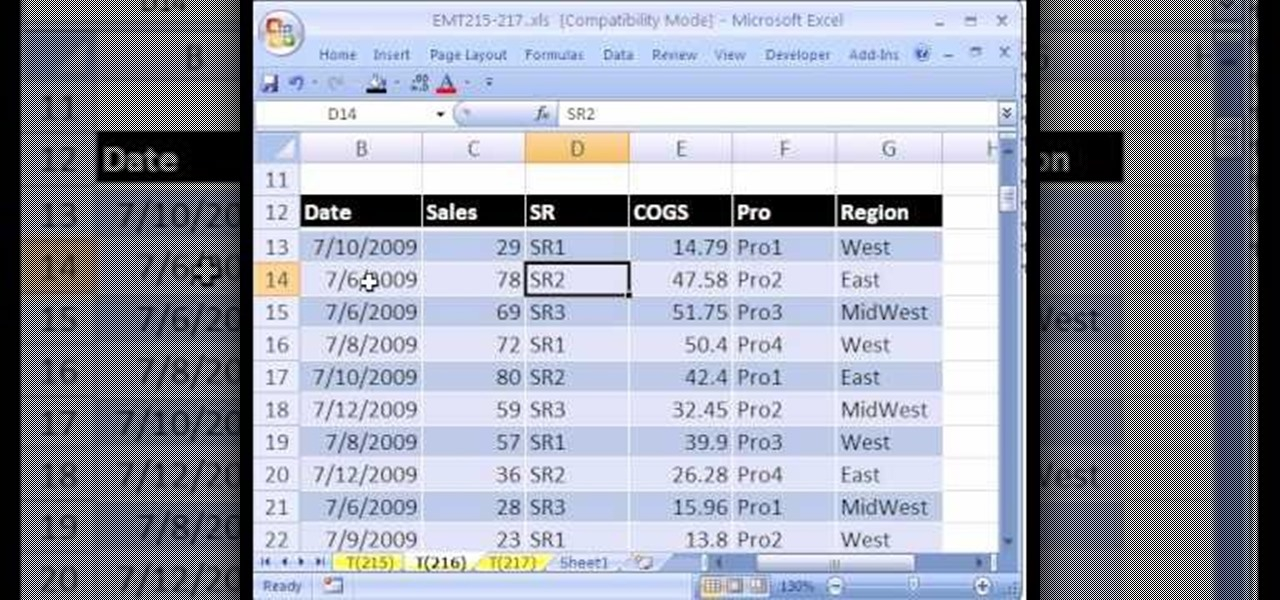 How to Create an Excel pivot table with 4-variable tabulation - pivot table in excel