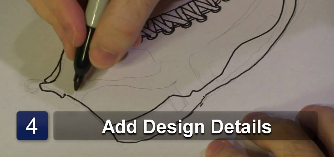 How to Draw a basketball shoe « Drawing  Illustration  WonderHowTo