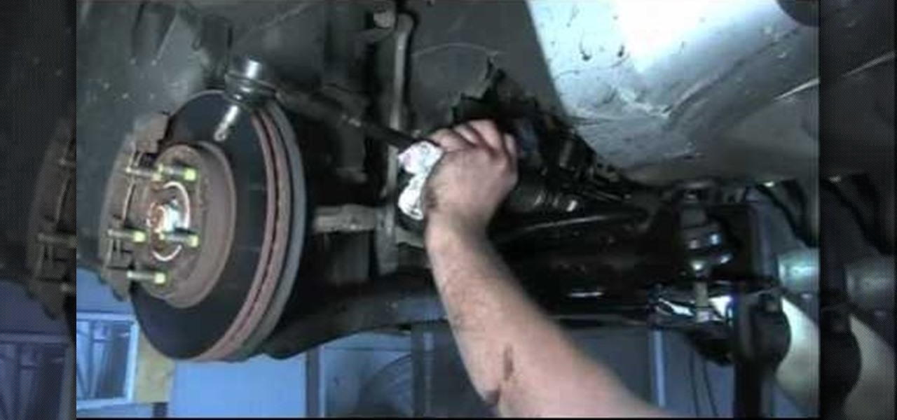 How to Replace and repair the rack and pinion on a Ford Escape or