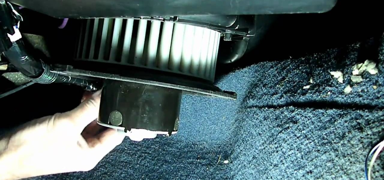 How to Remove the blower motor resistor in a Saturn S-Series « Auto