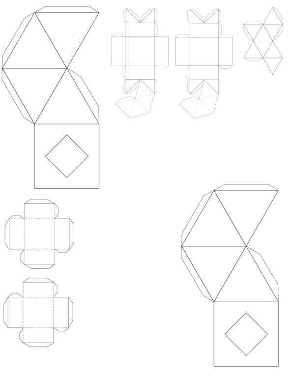 awesome cube template best of have students color cut fold and paste