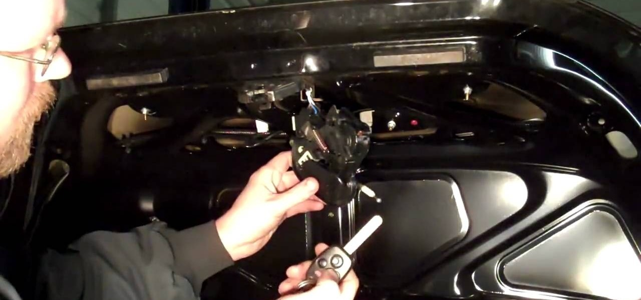 How to Repair a car trunk that won\u0027t open « Auto Maintenance