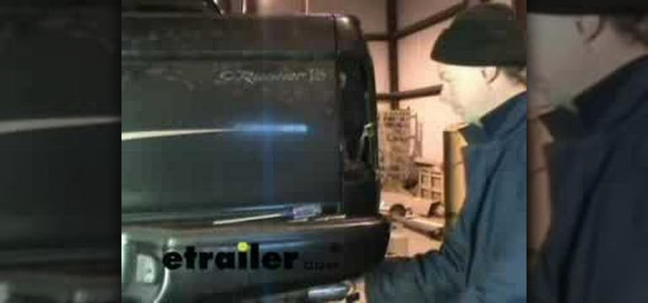 How to Install a trailer wiring harness on a Toyota Tacoma « Car