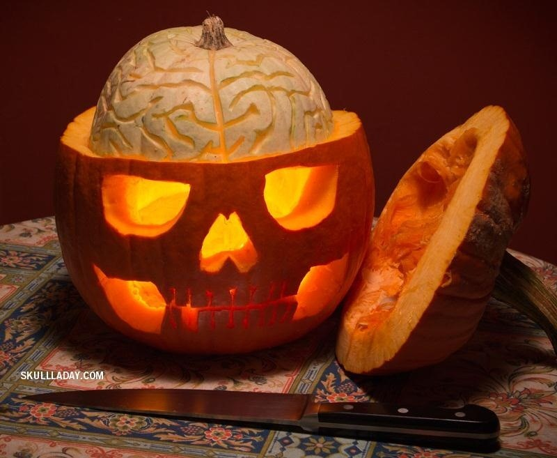 This Skillfully Carved Jack-O\u0027-Lantern Lets You Perform Experimental