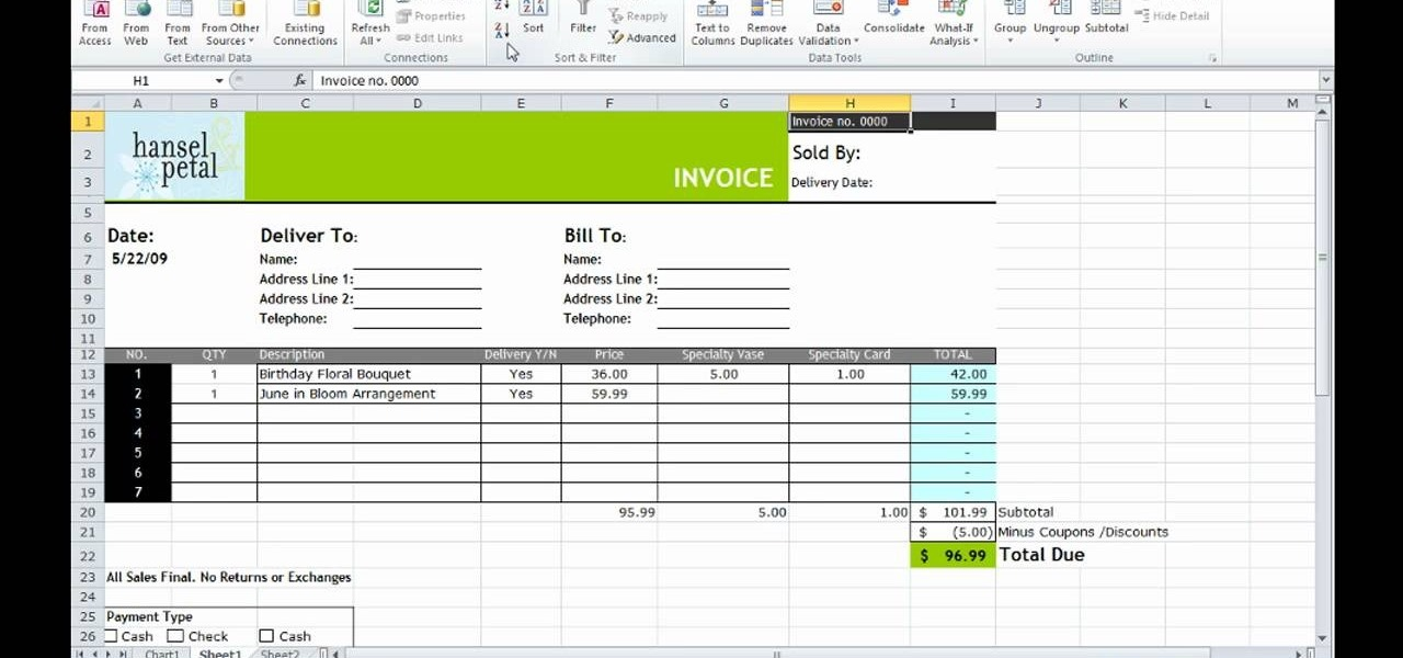 How to Use the Ribbon and Backstage view in MS Excel 2010