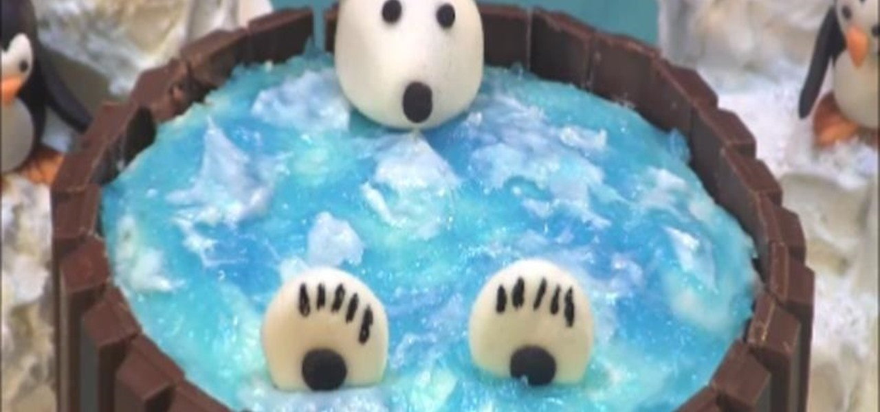 How To Make A Kit Kat Hot Tub Cake Cakes Cakes Cakes