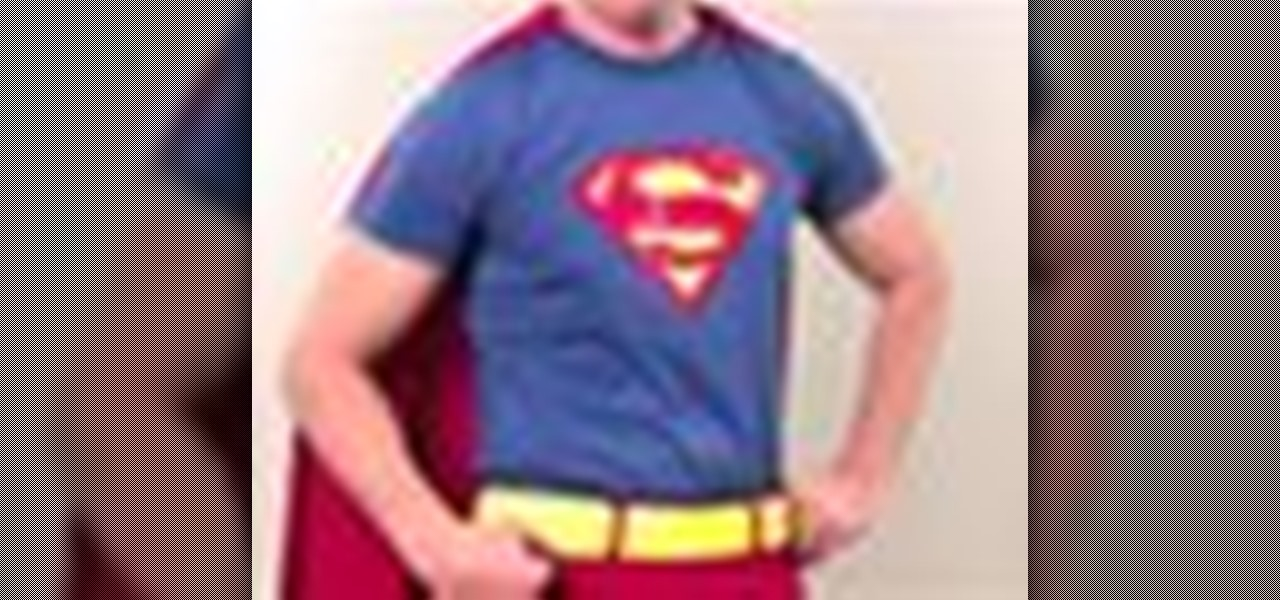 How To Make A Superman Costume With Gianny L Costuming