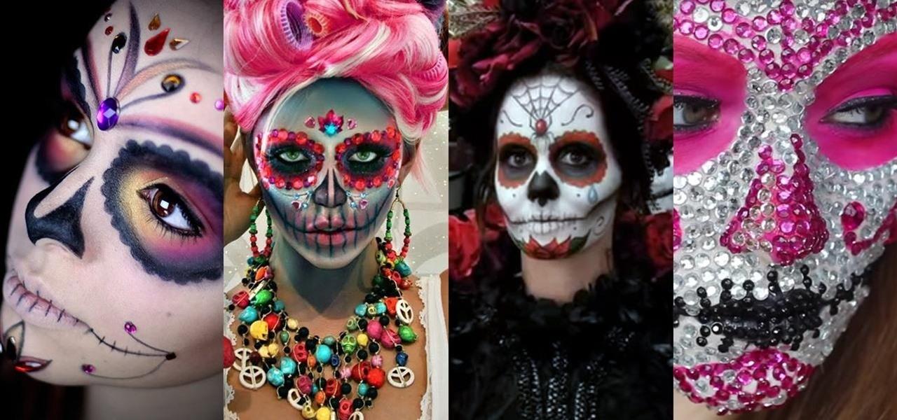 Mexican Sugar Skull Makeup New Blog Wallpapers