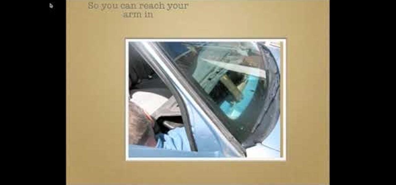 How to Fix the blend door actuator motor on a \u002799 Mercury Grand