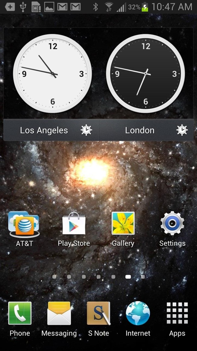 3d Live Wallpaper For Samsung Galaxy Core 2 Object Moved