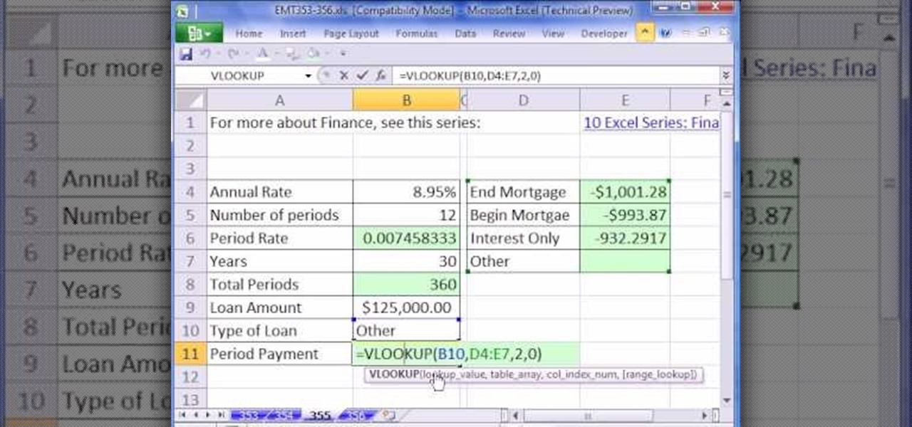 interest only mortgage calculator excel