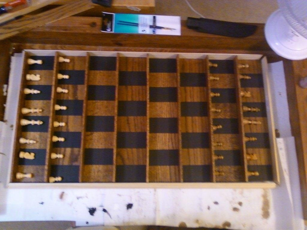 Diy Wood Chess Board How To Make A Vertical Wall Mounted Chessboard Board