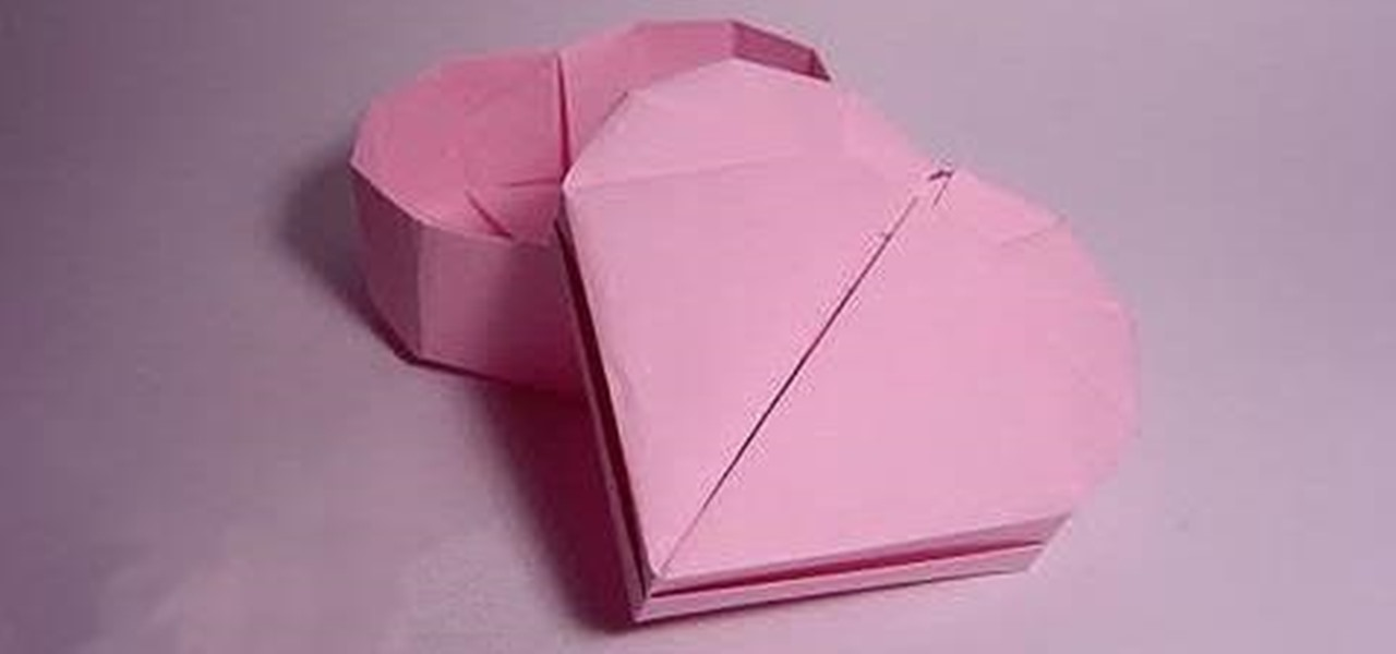 How to Fold a Heart-Shaped Box for Valentine\u0027s Day « Origami