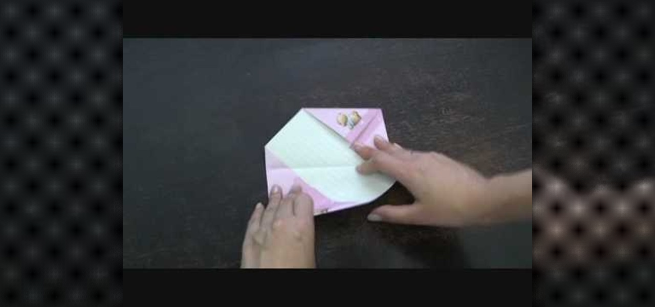 How to Fold your letter into a cool shape « Papercraft  WonderHowTo